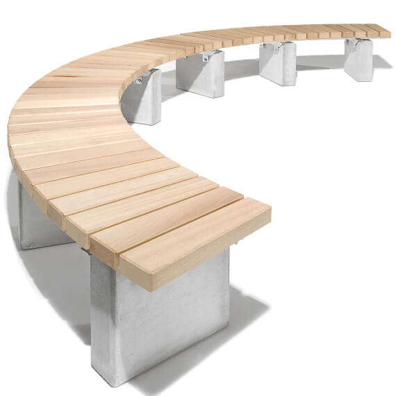Banc circulaire<br> NUSSER ARENA SD